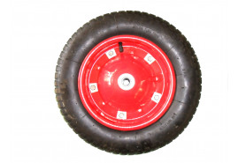 колесо надувное запасное для садовой тачки