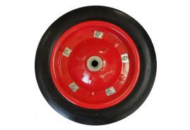 колесо резиновое запасное для садовой тачки