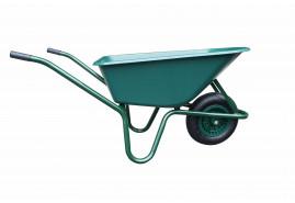 тачка  LIVEX 100 л, надувные колёса, ковш пластмассовый, грузоподъёмность 100 кг