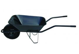 тачка строительная 60 л, резиновые колёса - ковш точечная сварка, грузоподъемность 100 кг