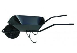 тачка строительная 60 л, надувные колёса - ковш точечная сварка, грузоподъемность 100 кг