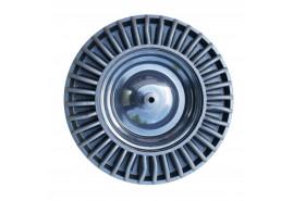колесо резиновое, жестяной диск