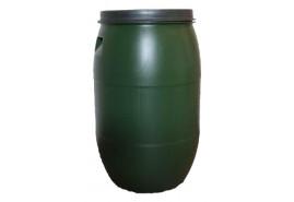 бочка 120 л для воды с крышкой