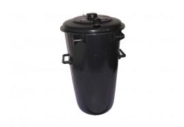 мусорный бак 110 л пластиковый, круглый