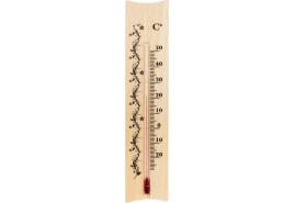 термометр внутренний деревянный 185x40 мм