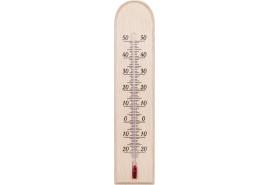 термометр внутренний деревянный 230x50 мм