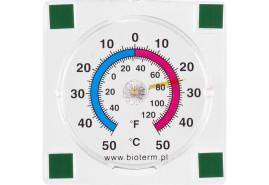 термометр наружный самоклеящийся 77x77 мм