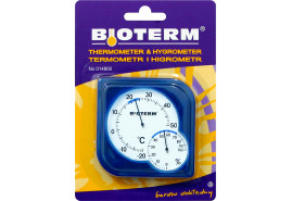 термометр наружный/внутренний 75x75 мм