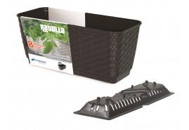 ящик для цветов RATOLLA PW DRL 500PW темно-коричневый