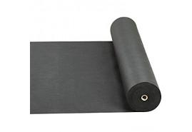 нетканый текстильный материал 0,8 x 100 м черный 50 г/м2 - рулон