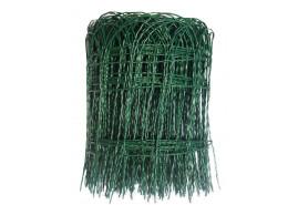 декоративная проволочная сетка 0,4x25 м 2 мм ПВХ15x9 см