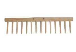 грабельный брус, 14 деревянных зубцов