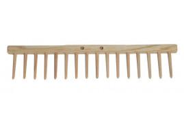 грабельный брус, 16 деревянных зубцов