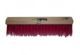 метла дорожная цветная <br>40 x 6,5 см с углублением