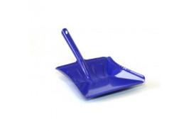 лопатка для мусора цветной лак синий