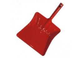 лопатка для мусора цветной лак красный
