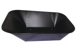 ковш для тачки объём 60 л, чёрная точечная сварка