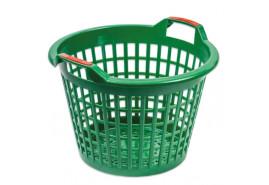 корзина пластмассовая 500 мм, зеленая