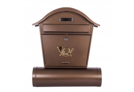 почтовый ящик ST 103 (круглая крыша)