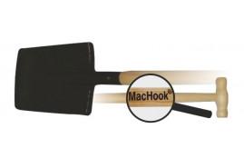 MacHook лопата штыковая квадратная с черенком  T90 черная