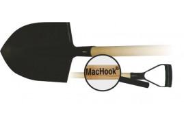 MacHook лопата штыковая остроконечная с черенком  PH-Y черная